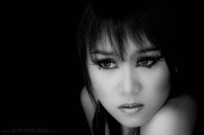 Shirley - Woman Portrait in Black n White